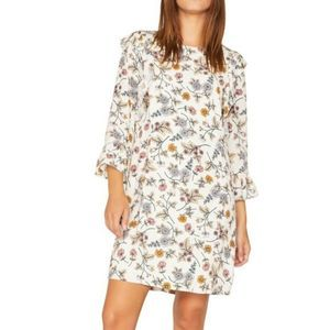 Sanctuary Spice of Life Floral Harvest Dress Small
